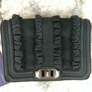 Rebecca Minkoff Love Nubuck Leather Crossbody